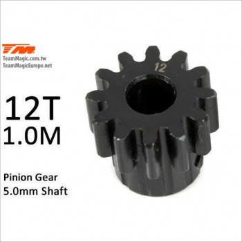TeamMagic M1.0 Pinion Gear for 5mm Shaft 12T #K6602-12 [E5]