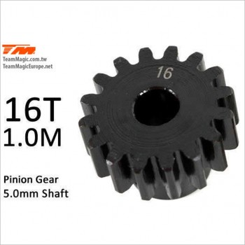 K Factory M1.0 Pinion Gear for 5mm Shaft 16T #K6602-16 [E5]