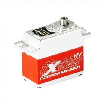 XPERT Mega Torque High Voltage Brushless Servo #SM-6601HV