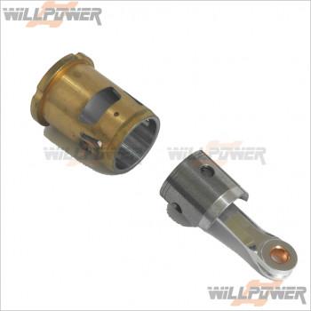 GO Piston Cylinder Con Rod Set for .25 6P Engine #25-2206