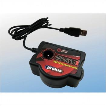 Prolux USB 5V Glow Starter Charger #PX-3507