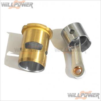 GO Piston Cylinder Con Rod For 28 Engine #28-2203 [Engine Parts]