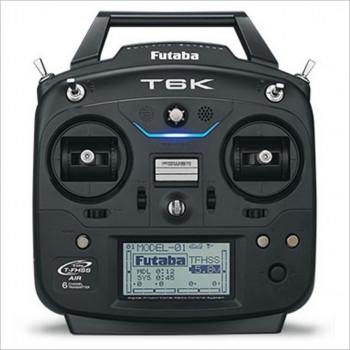 Futaba Futaba 6K 6-channel 2.4GHz Computer Radio System & R3006SB Receiver Model 1 #T6K-1