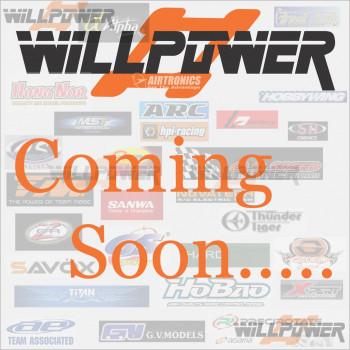 HB Racing Rondelle aluminium 3 x 6 x 1.0mm (Violet/10 pcs) #Z815