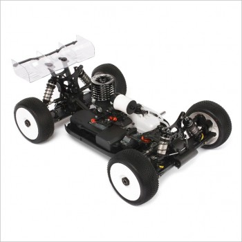 HB Racing HB Racing D817 World Champion 1/8 Off-Road Competition Nitro Buggy Combo w/CRF 3 Port Engine & Pipe #204331