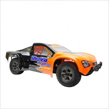 Hobao HYPER 8 SC TRUCK EP RTR, ORANGE BODY W/ 100A ESC, 2000KV MOTOR, PROGRAM CARD, SERVO 14KG, 2.4GRC #HB-8SCE-C100RG