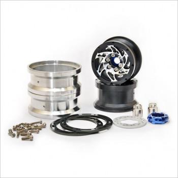 HOBAO Beadlock Ring Wheels w/ Brake Disc #230118B [DC1]