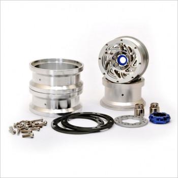 HOBAO Beadlock Ring Wheels w/ Brake Disc #230118S [DC1]