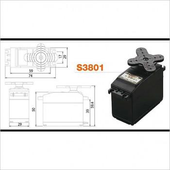 Futaba Futaba S3801 Servo #S3801