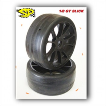 SP 1/8 Rally Games Slick Tires Super Soft  #R2-SLICK