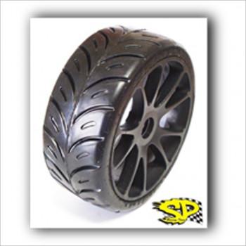 SP 1/8 Rally Games Tires Radial Medium #R4