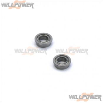 HongNor 4x7x2.5 Flange Ball Bearing #X3S-38A [X3-GTS]