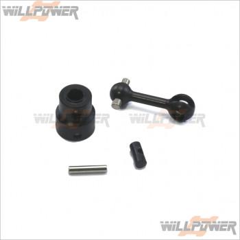 HongNor 中央CVD傳動軸組(後) 29.1mm #X3.6-23
