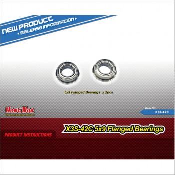 Hongnor 5*9 Flanged Bearings #X3S-42C