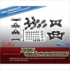 HongNor Front/Rear Gear Box Conversion Kit #X3GT-37 [X3-GTe] [X3-GT] [X3-GTS]