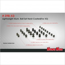HongNor Ball Set Hard-Coated #398-X3 [X3 Series]