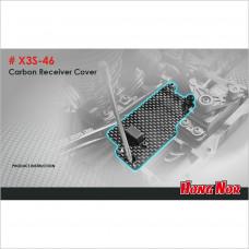 HongNor Carbon Receiver Cover for Nitro #X3S-46 [X3 Series]