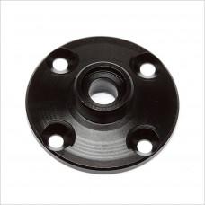 Team Associated FT Aluminum Gear Diff Cover, black #91464 [DR10]