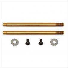Team Associated 3x27.5 mm Shock Shafts (V2), TiN #91619