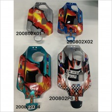 G.V. Model Painted Printed Body Shell Cover #200802P6