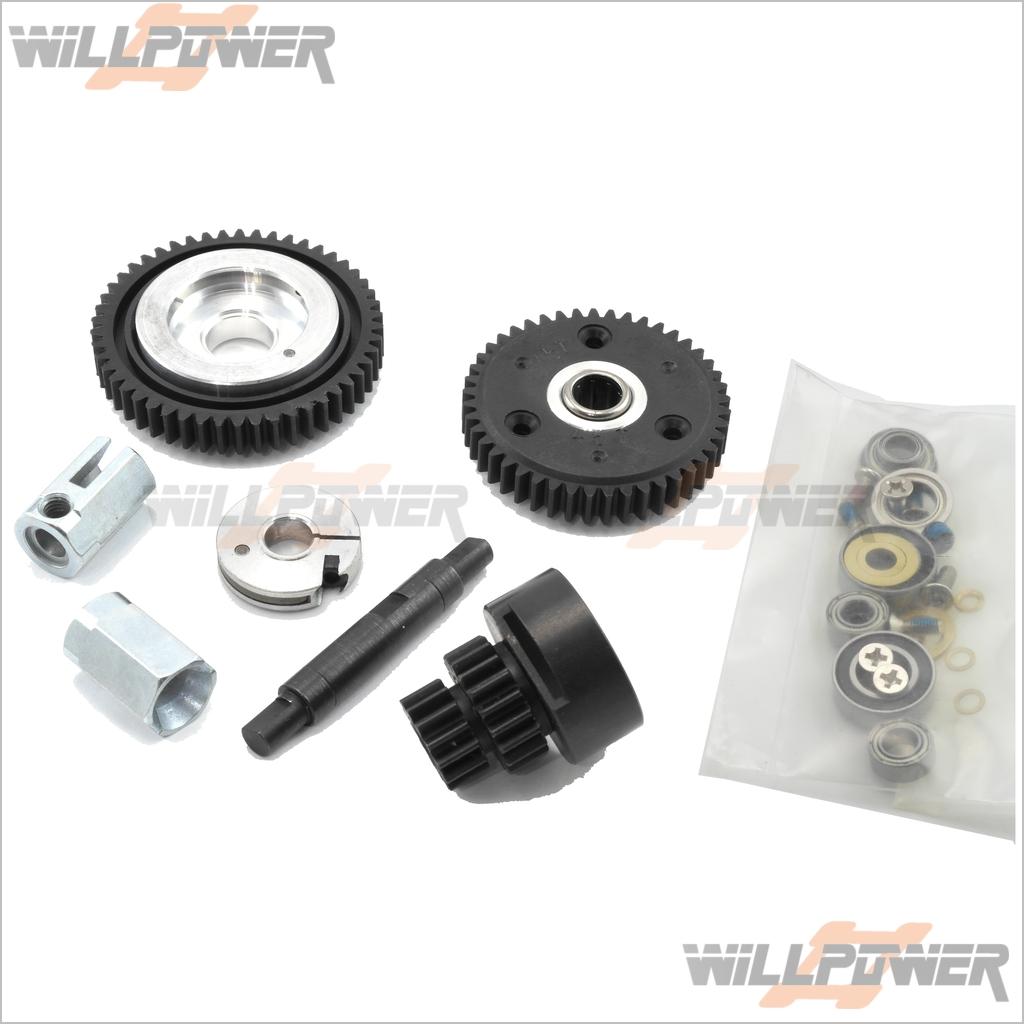 2-Speed Conversion Kit  MV2252 (RC-WillPower) G.V. Model CAGE XT2