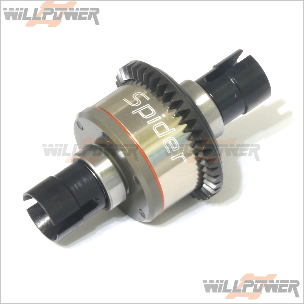 Front-Rear-Spider-Diff-87343-RC-WillPower-HOBAO-Hyper-7-ST