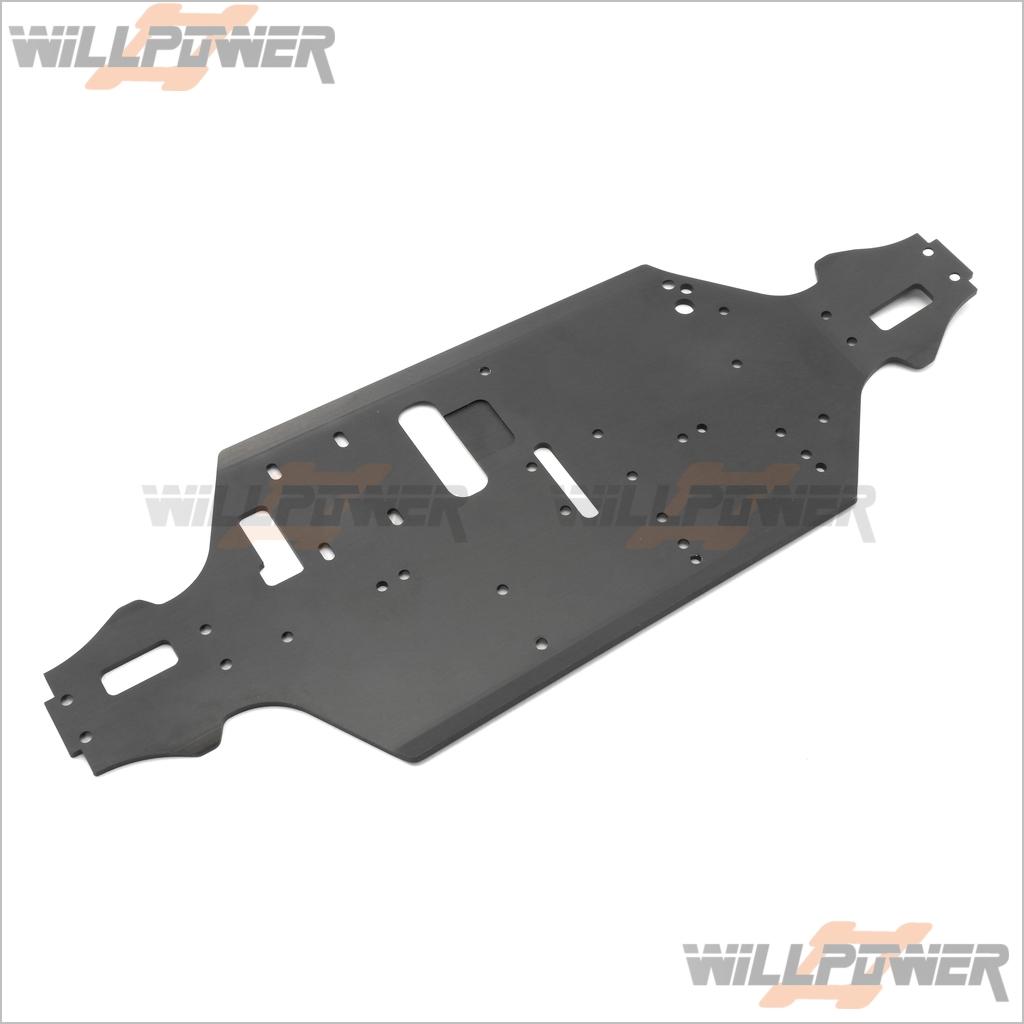 Alum. Nitro Chassis  11261  RC-WillPower  HOBAO Hyper MINI ST