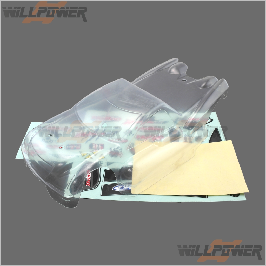 EP Clear Body Shell Cover  11310  RC-WillPower  HOBAO Hyper MINI ST