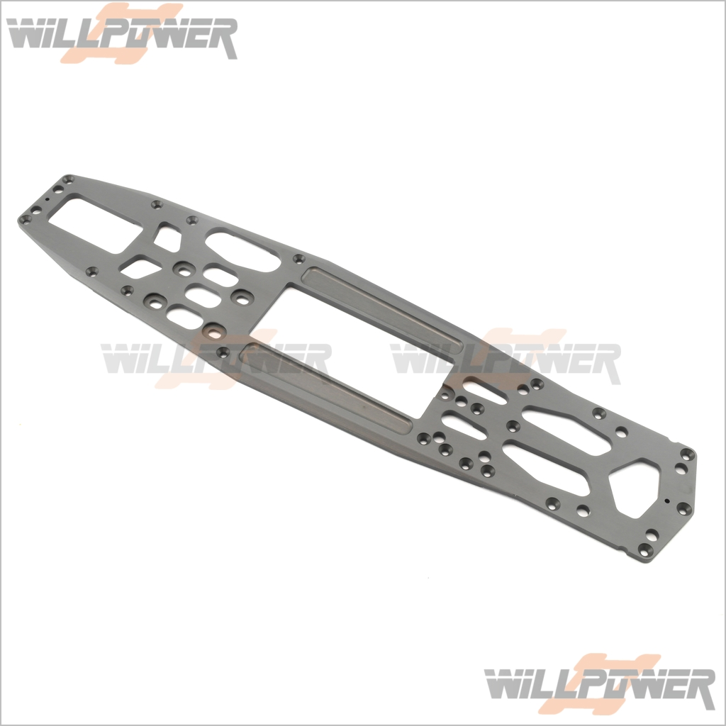 GPX4 Chassis 4mm-CNC 7075  22117  RC-WillPower  Hobao Hyper OFNA