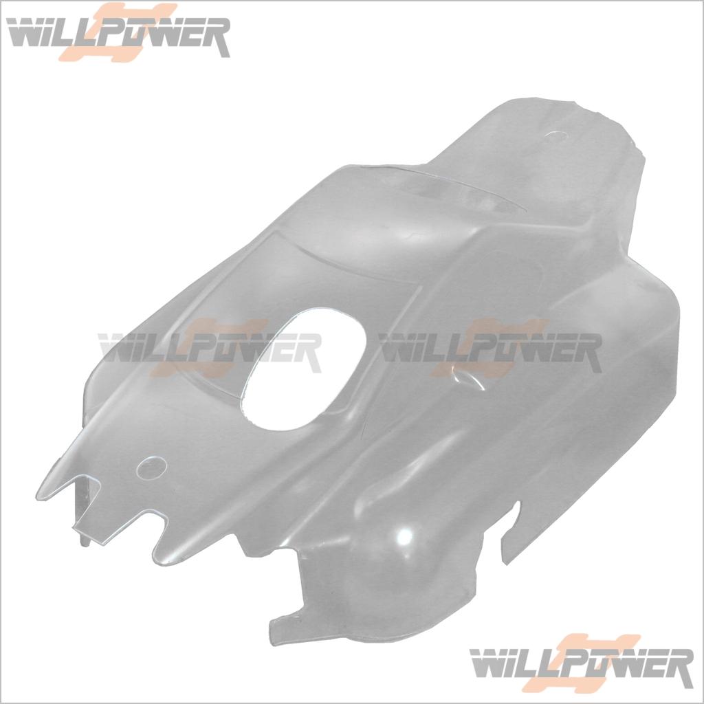 Hyper 9 Transparente Cuerpo Cover (rc-willpower) 1 1 1 8 Ofna Hobao Piezas  precio al por mayor