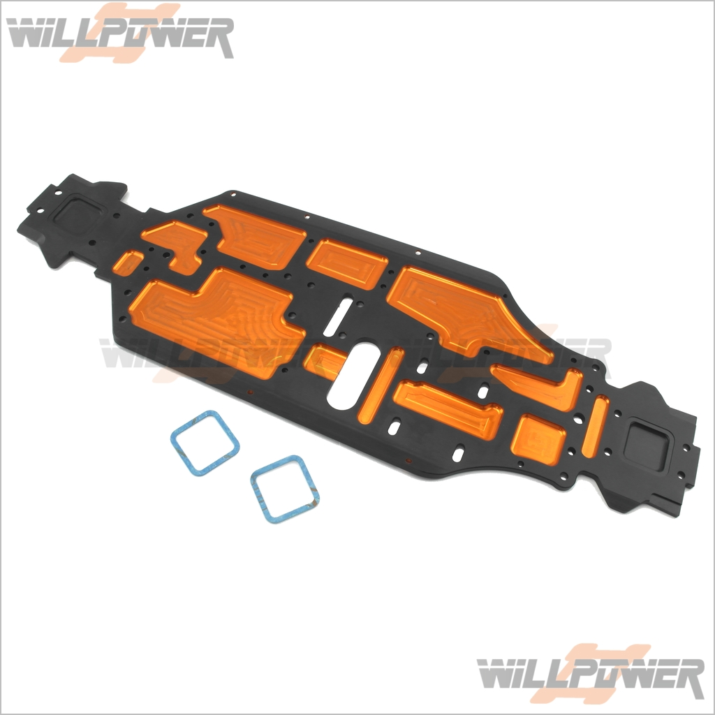Lightweight Chassis  89129 (RC-WillPower) HOBAO Hyper 9
