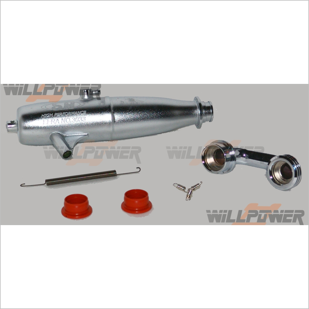 SH EFRA-3033 EXHAUST EXHAUST EXHAUST TUNED PIPE   3 chamber  SA217FS (RC-WillPower) d1fc00