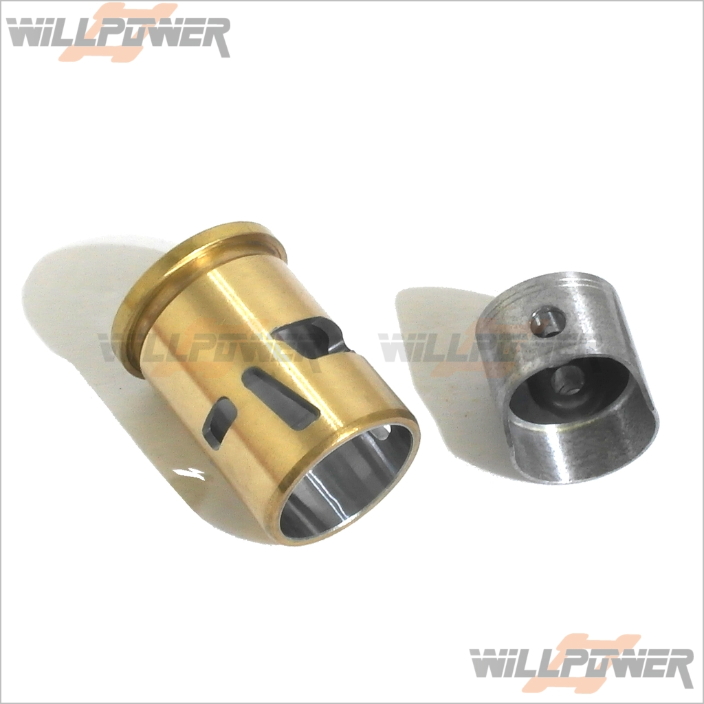 Sh Motor.25 6p cyliner Y Pistón Asamblea  te 2531a (rc-willpower)