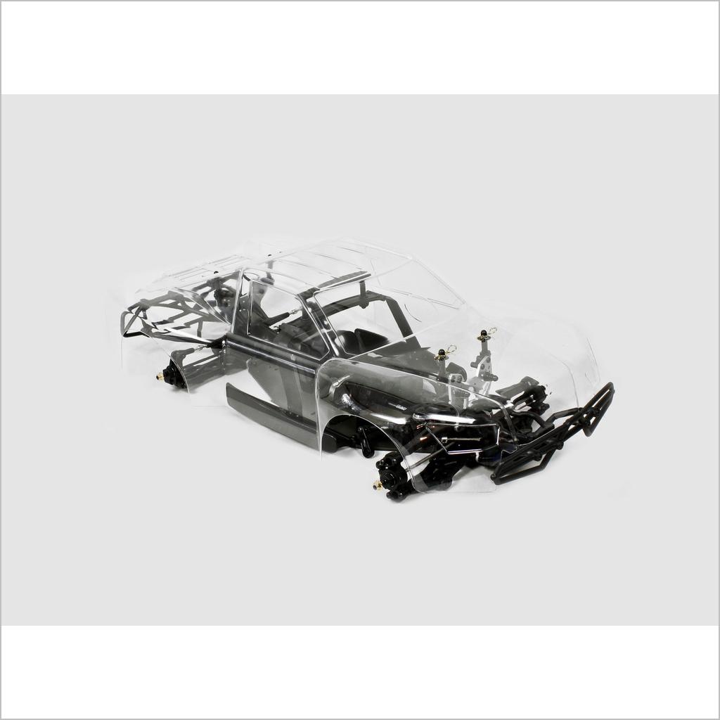 Hyper 10-sce kurzlehrgang auto kit arr (rc willenskraft) hobao