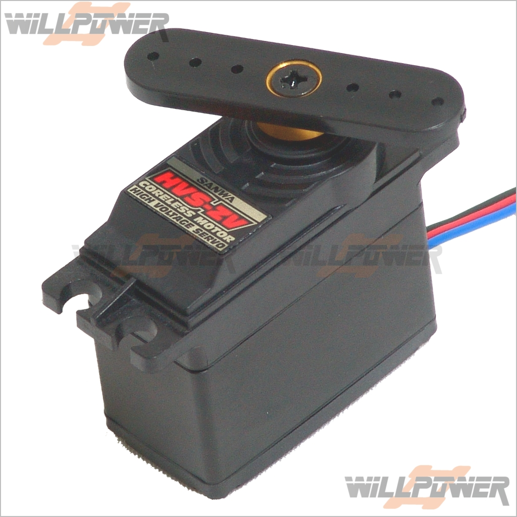 SANWA Digital HVS-ZV Torque Servo (RC-WillPower) Airtronics Coreless Motor