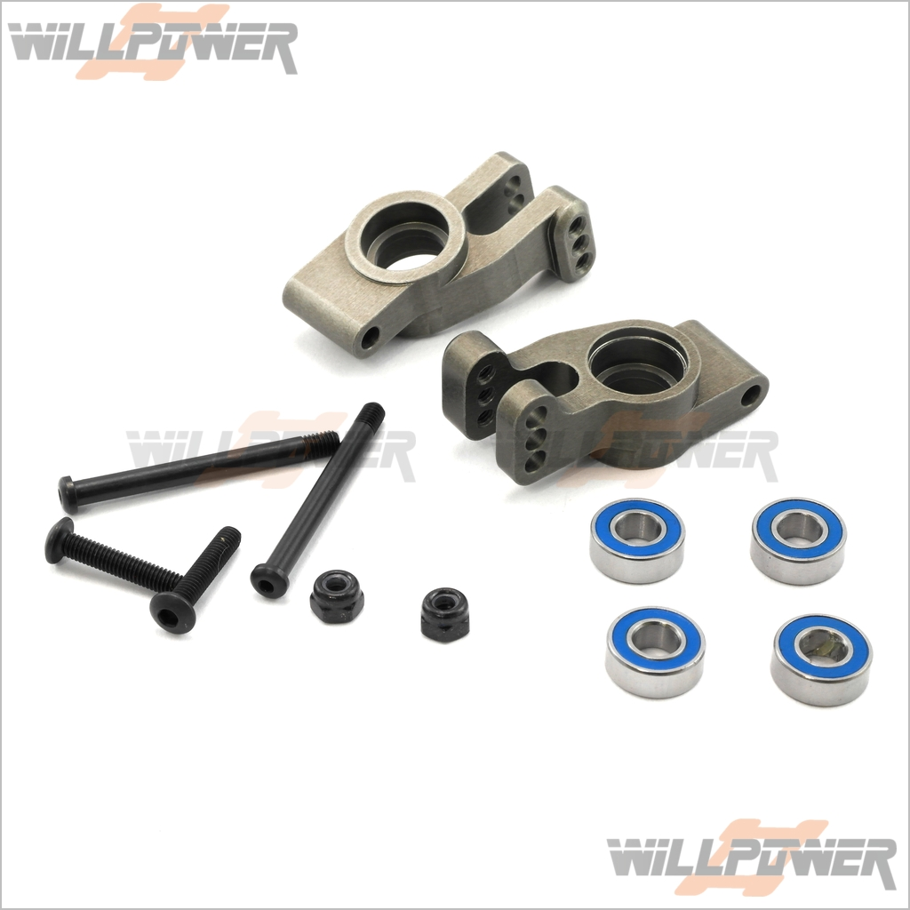 Rear Hub  TMS-23  RC-WillPower  HongNor CRT.5/SCRT-10/NEXX10