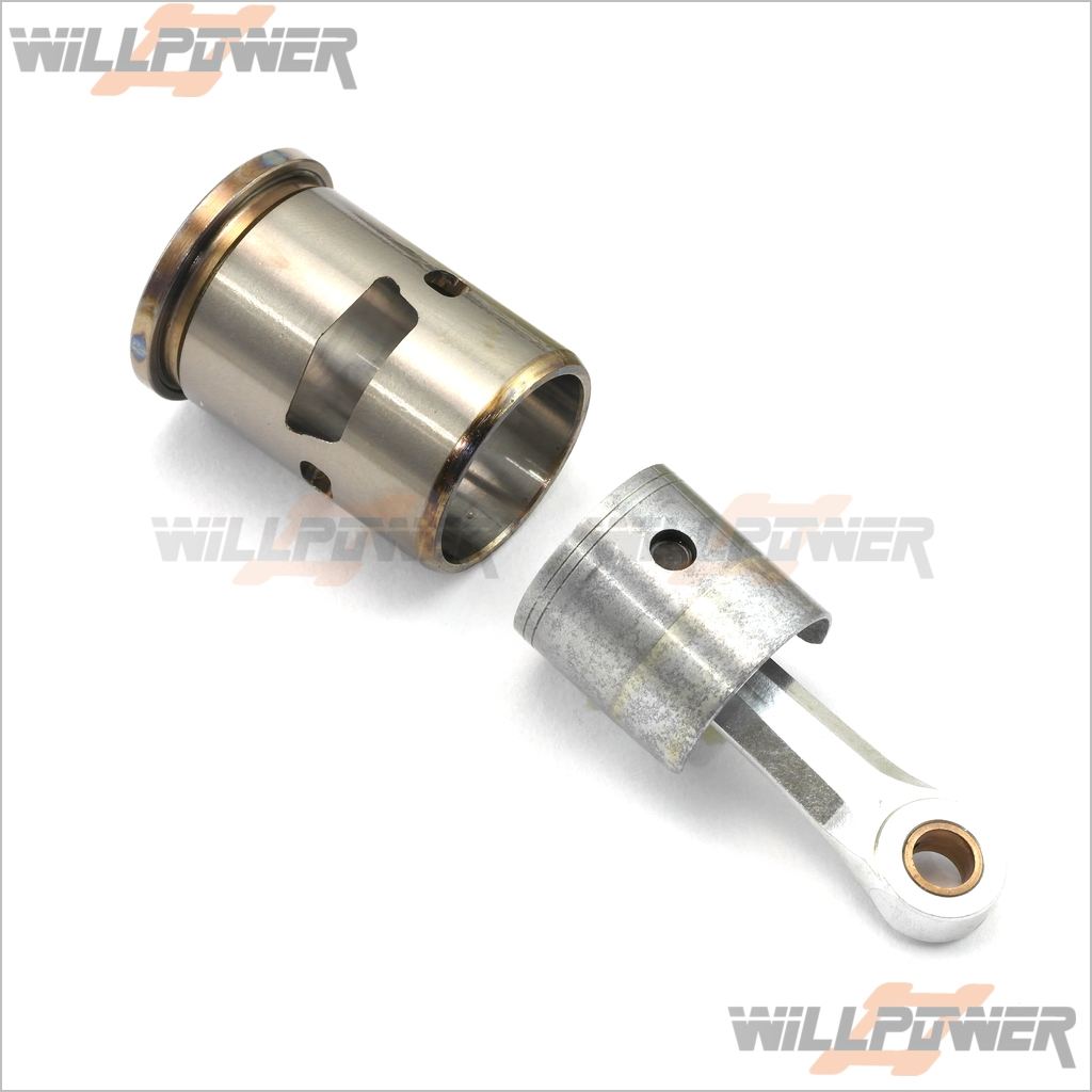 .25 Piston Cylinder Con Rod 3PT  TE2531CA (RC-WillPower) SH