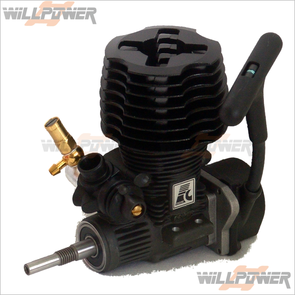 FC 18S Pull Start Engine  E-18S30 (RC-WillPower) Force Side Exhaust