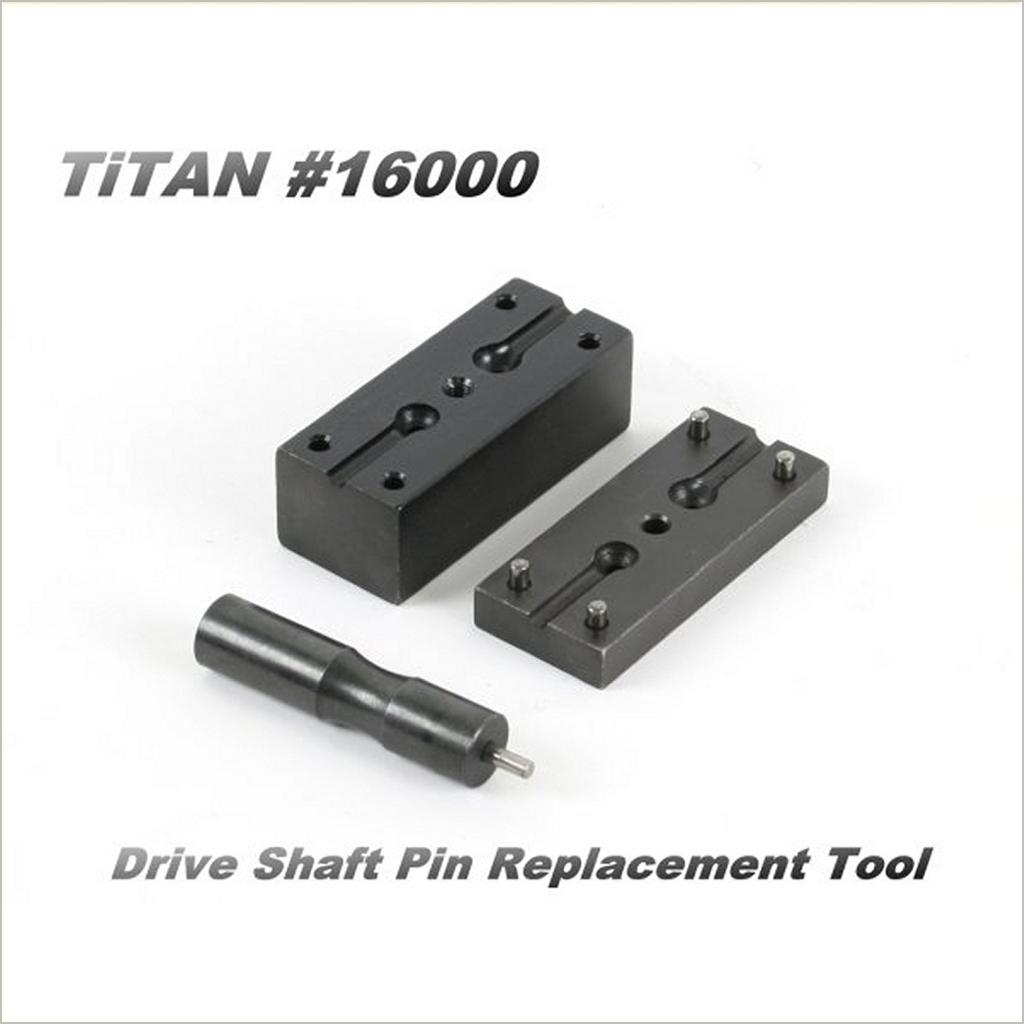 Herramienta de reemplazo de pin del eje motor Titan (Radio Control-WillPower)