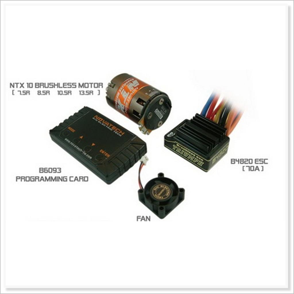 70A Brushless ESC + 4200KV 8.5T Motor + Card  PW-700M-85 (RC-WillPower) Novatech