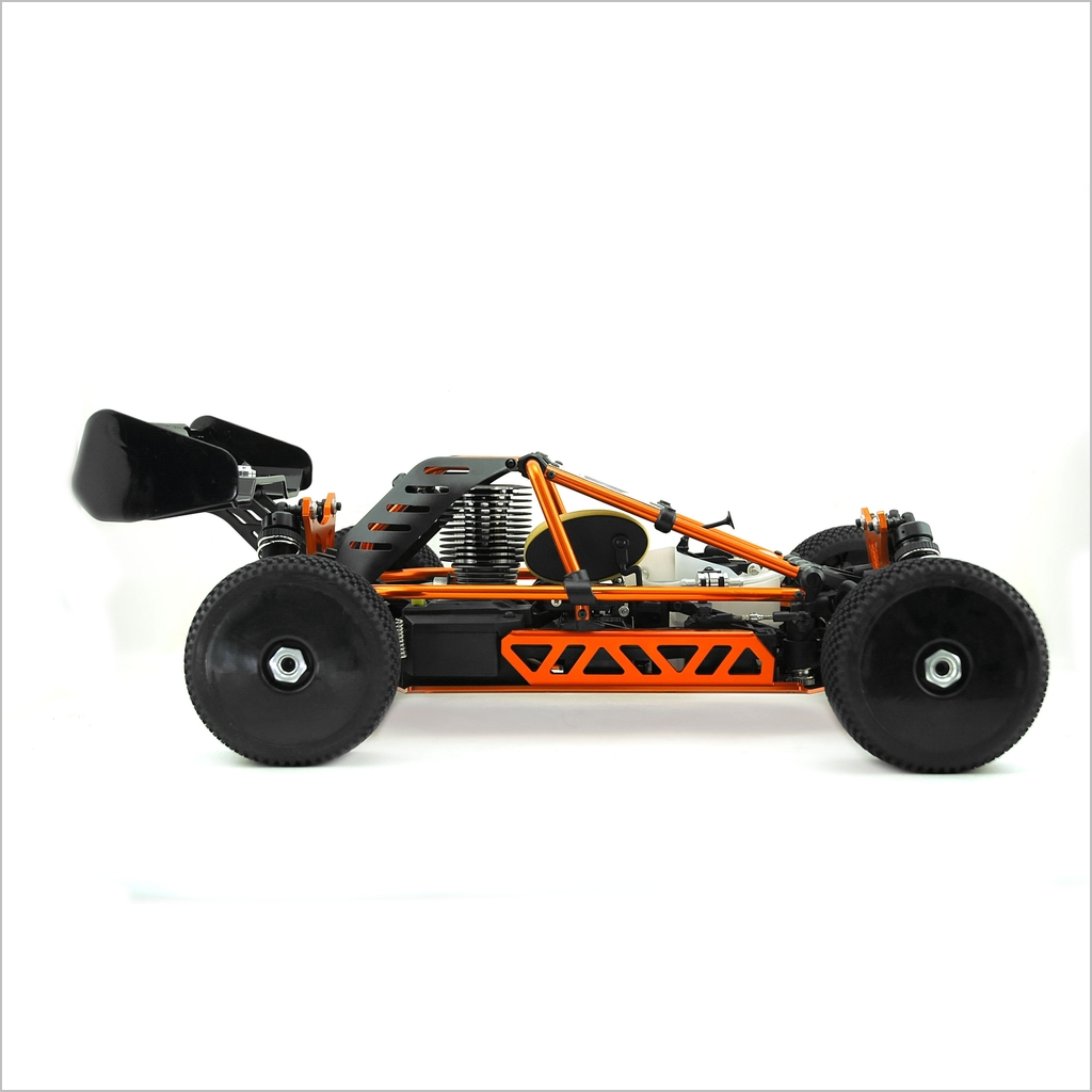 Hyper Nitro Cage Buggy RTR Black (RC-WillPower) Hobao 1:8 ...