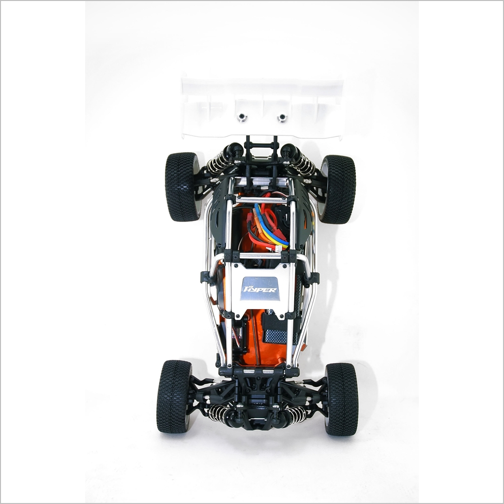 Details about Hyper EP Cage Buggy Kit Black (RC-WillPower)Hobao 1:8 1/8 4X4  4WD Electric Rally
