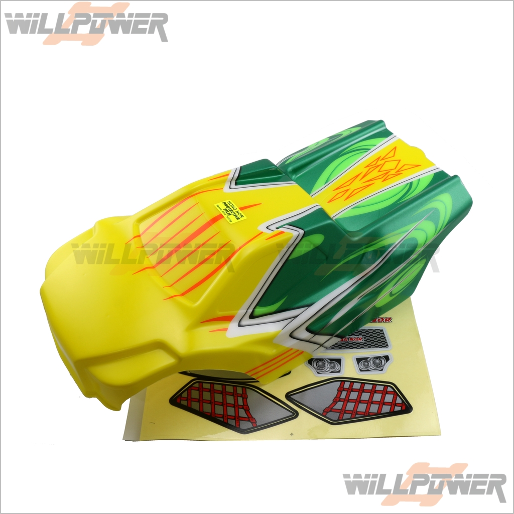 Printed Painted Body Shell Cover  XT-41A  RC-WillPower  HongNor NEXX8T