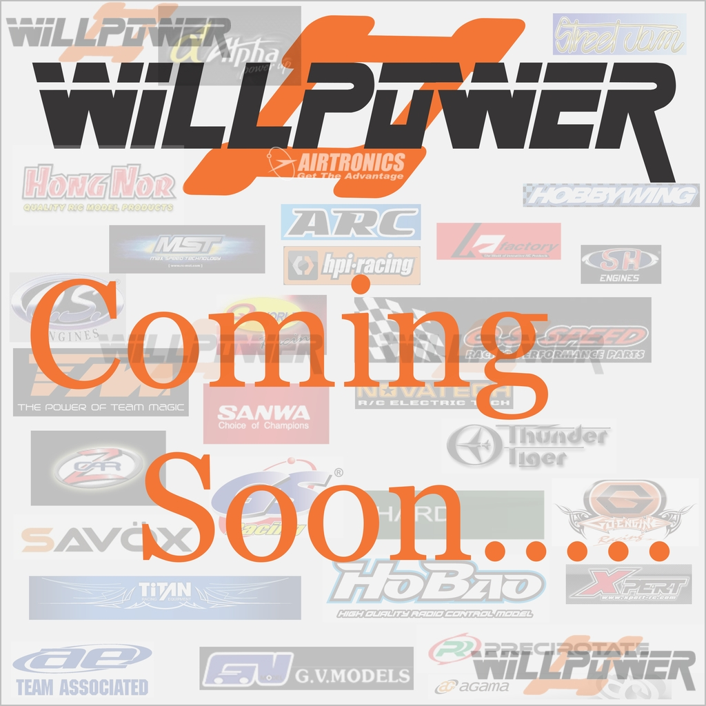Painted Printed Body Shell Cover  86227BU  RC-WillPower  HOBAO HyperST
