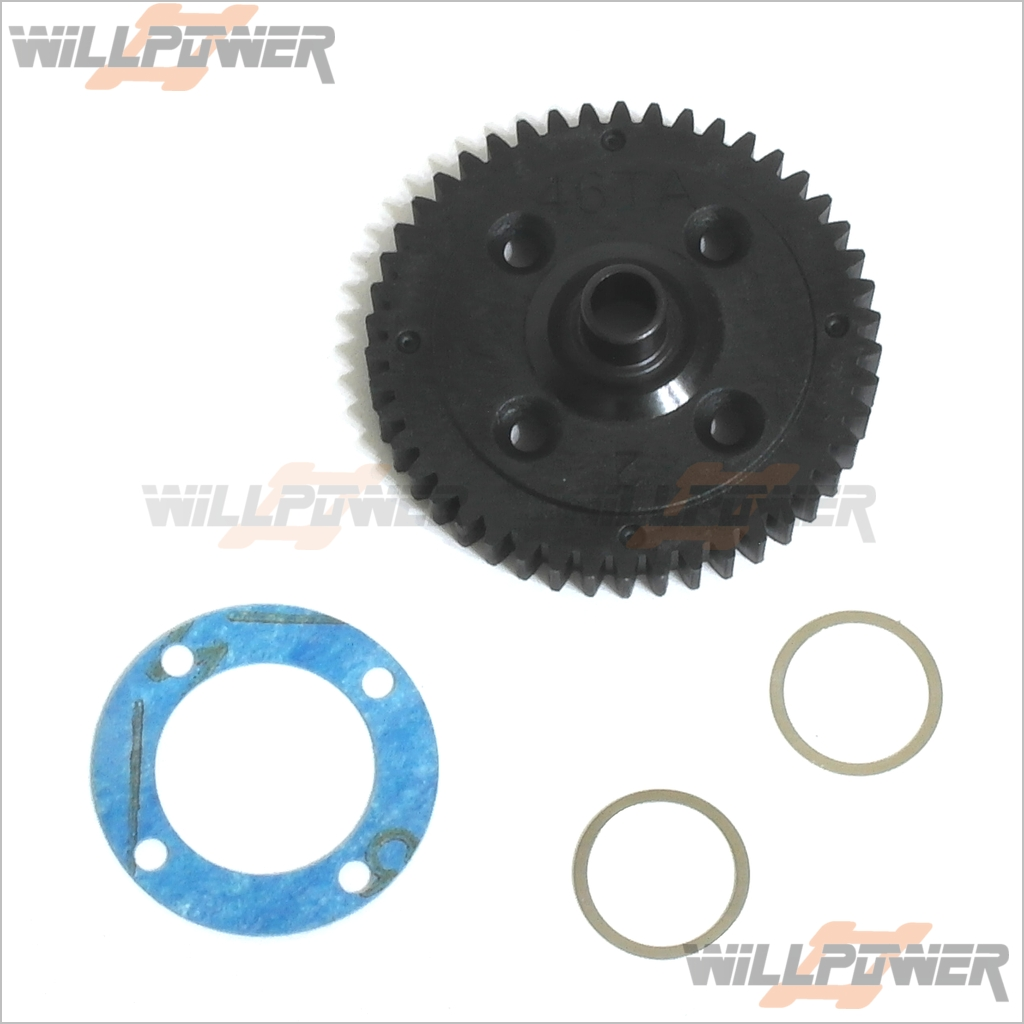 HongNor CD3 2nd Spur Gear 49T #LS-37G RC-WillPower