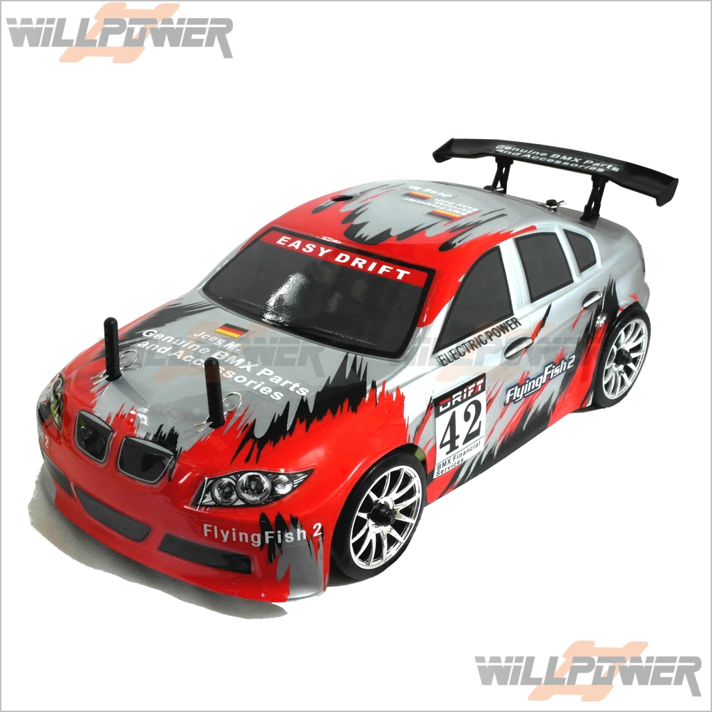 1/16 4WD Brushed Drifter RTR + 2.4G  RC-WillPower  Team-Infinity