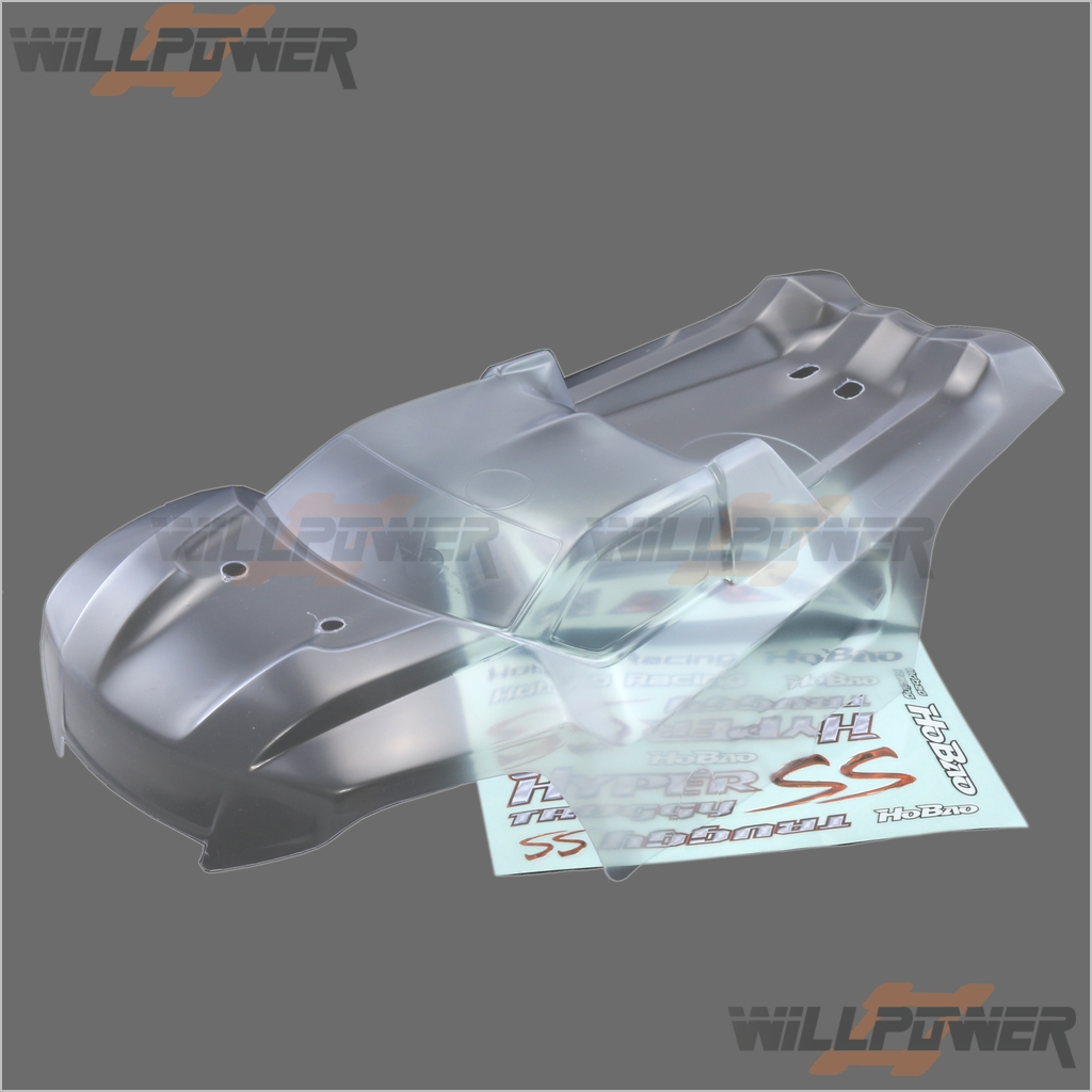 Clear Body Shell Cover  OP-0057 (RC-WillPower) HOBAO Hyper SST