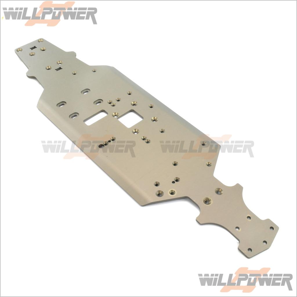 Leichtbau - chassis   x3gt-06 (rc willenskraft) hongnor x3-gt