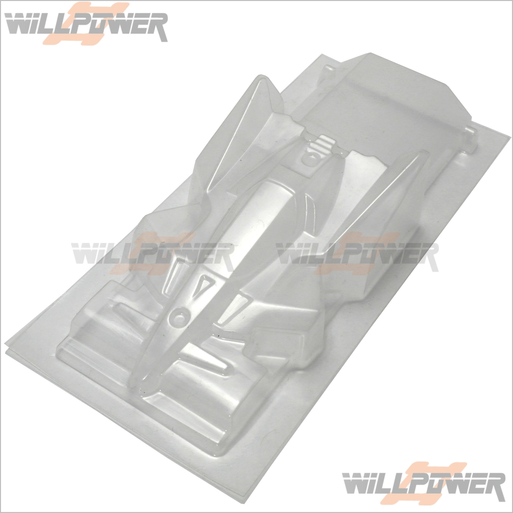 Mini 4WD / mini Racer Winning Clear Bird Body Shell 10pcs  94345  RC-WillPower