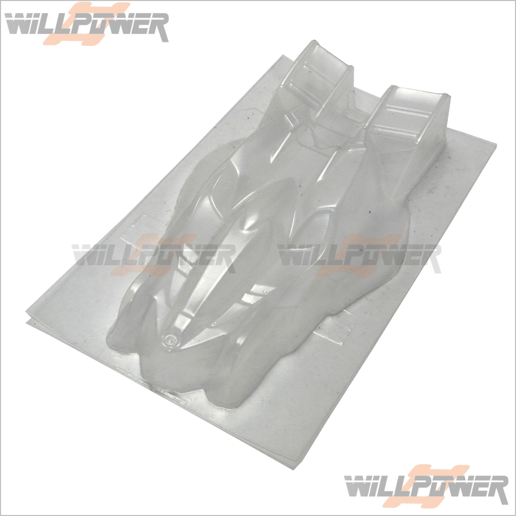Mini 4WD / mini Racer Body Manta Ray Clear Body Shell Cover 10pcs  RC-WillPower
